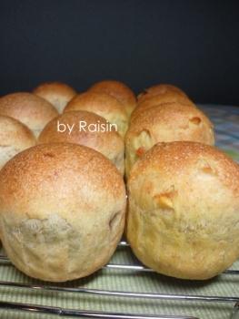 20140217りんご&みかんのパンbyレーズン酵母