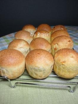 20140217りんご&みかんのパンbyレーズン酵母0