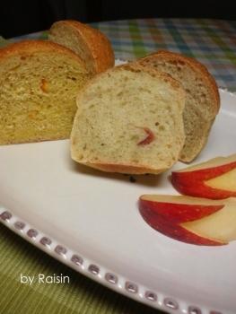 20140217りんご&みかんのパンbyレーズン酵母02
