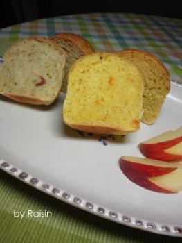 20140217りんご&みかんのパンbyレーズン酵母01