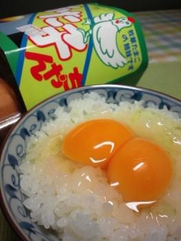 20140919ふた子玉子かけご飯