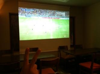 サッカー試合