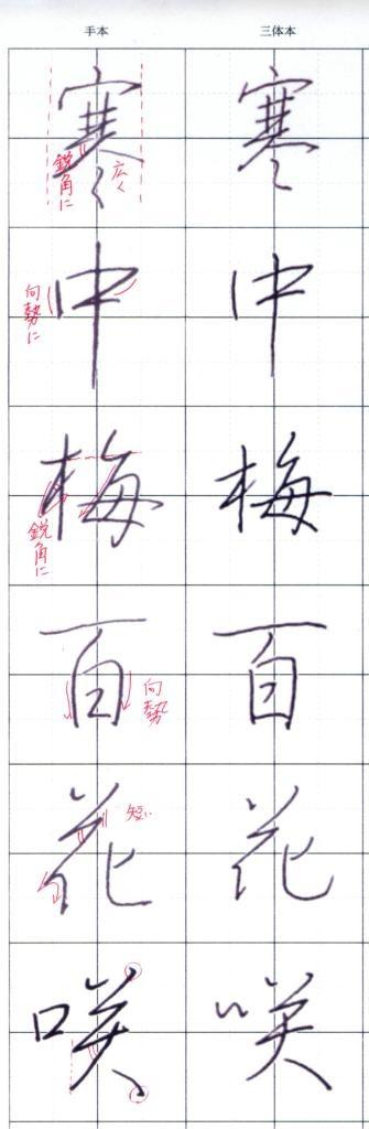 201402_ペン時代行書漢字