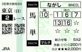 0518東京2(日刊コンピ 馬券生活 的中 万馬券 三連単 札幌競馬)
