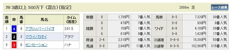 0928阪神7(日刊コンピ 馬券生活 的中 万馬券 三連単 札幌競馬)