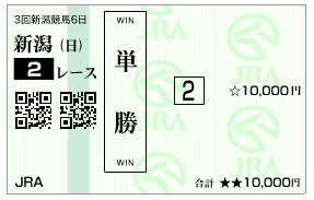 【馬券】0928新潟2