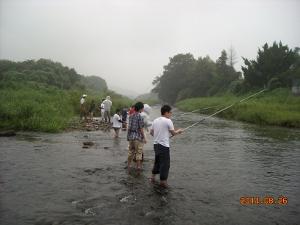 3 雨の釣り