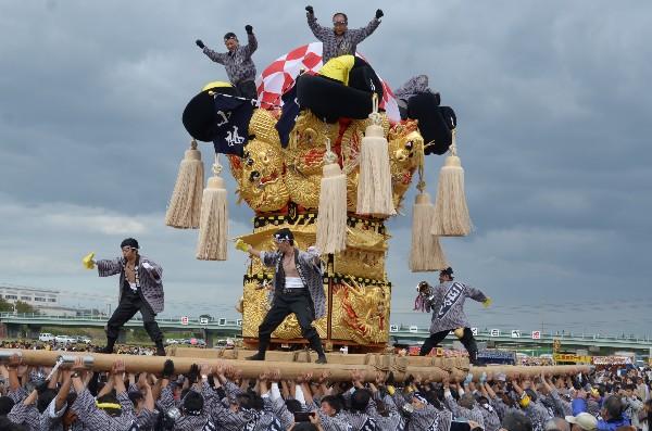四国中央市 土居地区 秋祭り 小林太鼓台