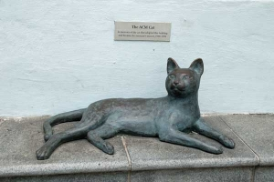 The ACM (Asian Civilization Museum, now Peranakan Museum) Cat