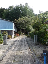 高倉城址2(現鹿島神社)