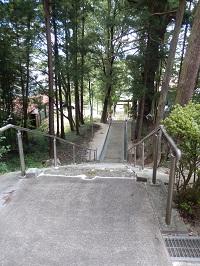 高倉城址7(現鹿島神社)
