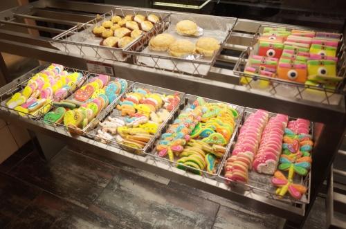 カラフルなアイシングクッキー