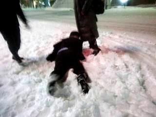 20140214雪転び