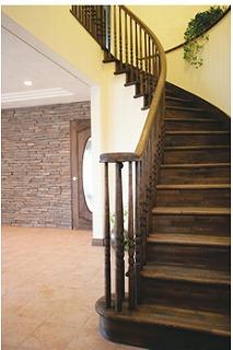 ラウンド階段イメージ
