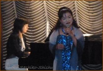 20140830 照代さん 青 シャンソン