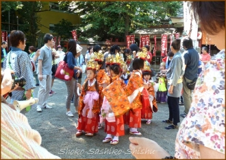 20140915 御稚児さん準備 今週も秋祭り