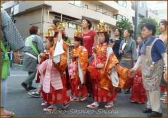 20140915 巡行 御稚児さん 5 今週も秋祭り