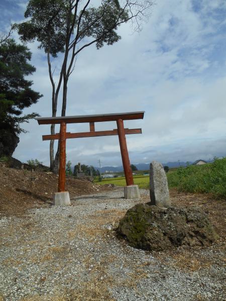 白山神社鳥居2