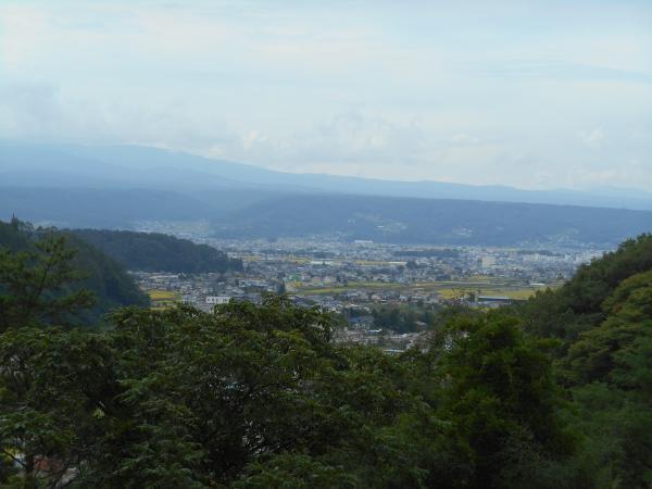 園城寺からの眺め