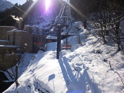 宇奈月スキー場1