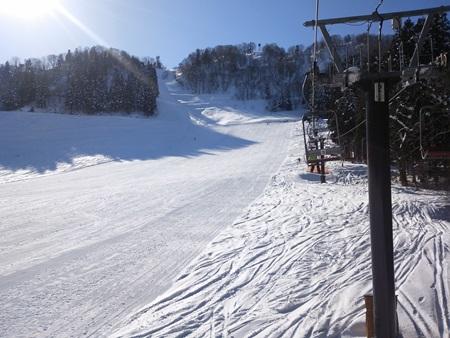 宇奈月スキー場3
