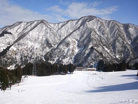 宇奈月スキー場4