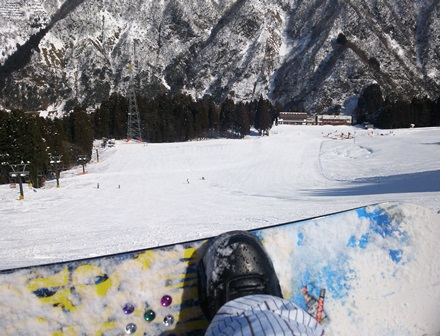 宇奈月スキー場5