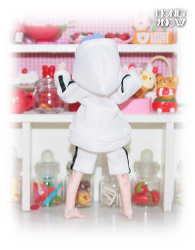 1/12DOLL 【パーカージャージ上下】 服 武装神姫、figma、オビツ11、ピコニーモ