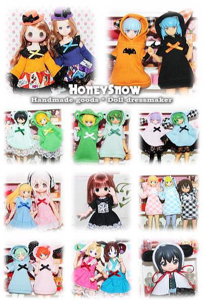 9/15【ドールショウ41】参加します!! 【HoneySnow】 5F-15.16