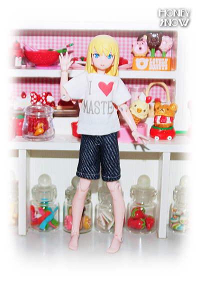 【あいらぶ♡マスター】 Tシャツ&パンツセット 服 武装神姫