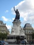 共和国広場のマリアンヌ