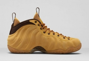 AIR FOAMPOSITE ONE WHEAT