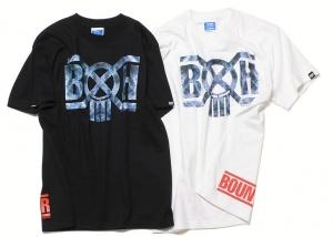 BXH ブリーチデニムTシャツ