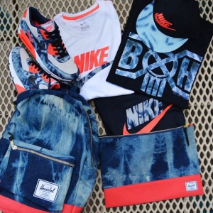Sports Lab by atmos Bleach Denim Collection
