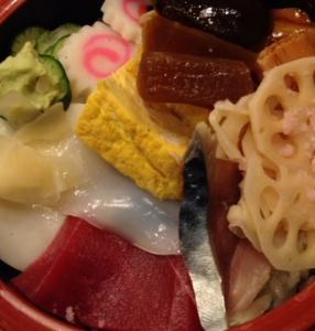 寿司大トロちらし
