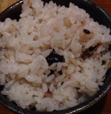 白キムチ五穀米
