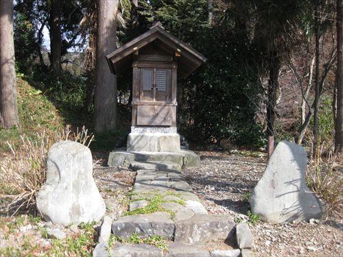 関ケ原合戦 小関 陣跡 北国街道