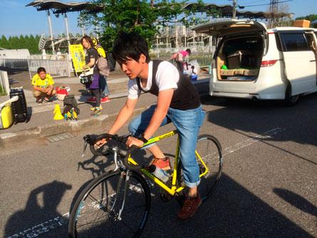 ガッキー自転車_140511