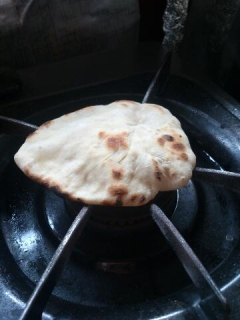 チャパティ作り1