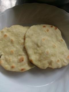 チャパティ作り2