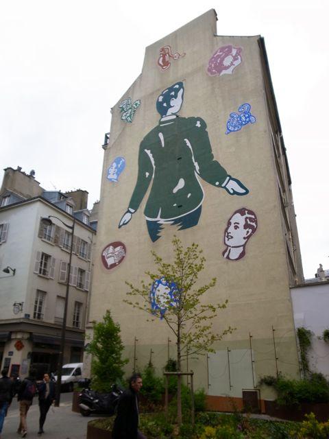 パリ 壁画1