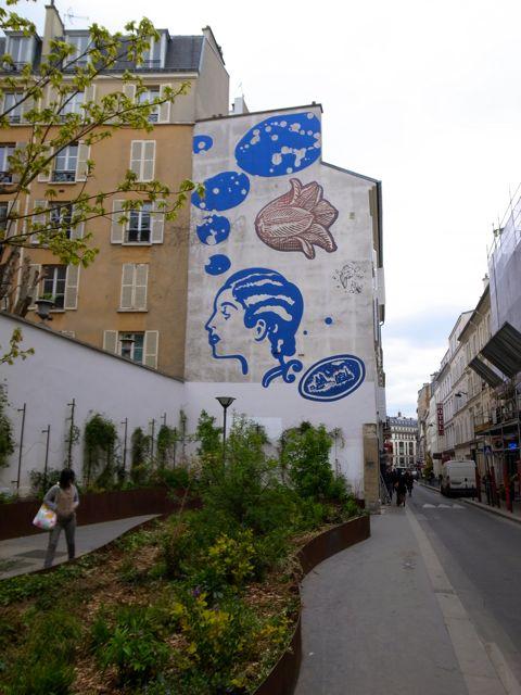 パリ 壁画2