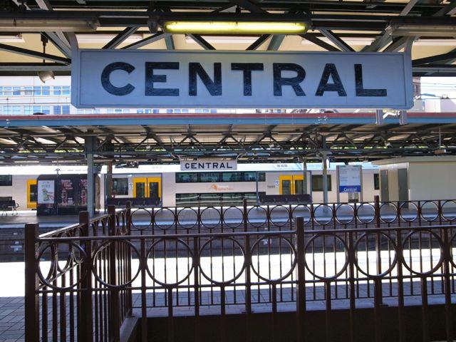 シドニー セントラル駅1