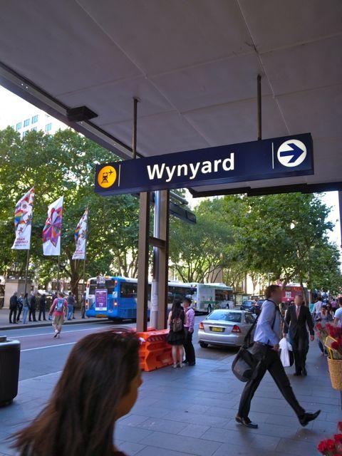 シドニー ウインヤード駅1