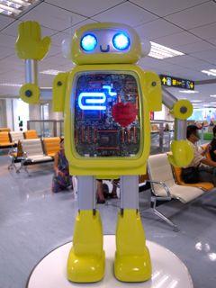 台北松山空港8