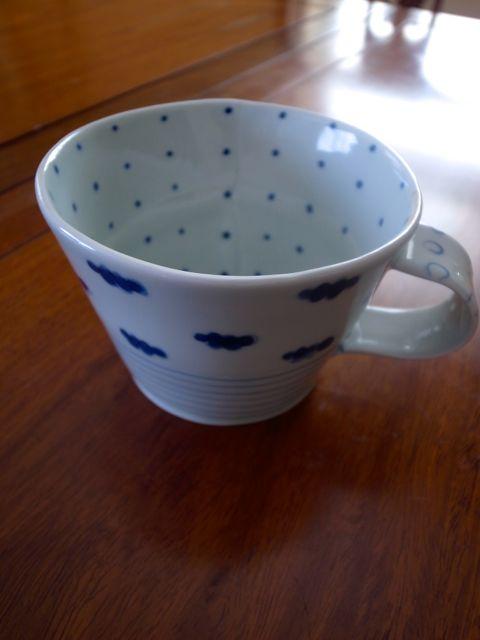 砥部焼カップ 1