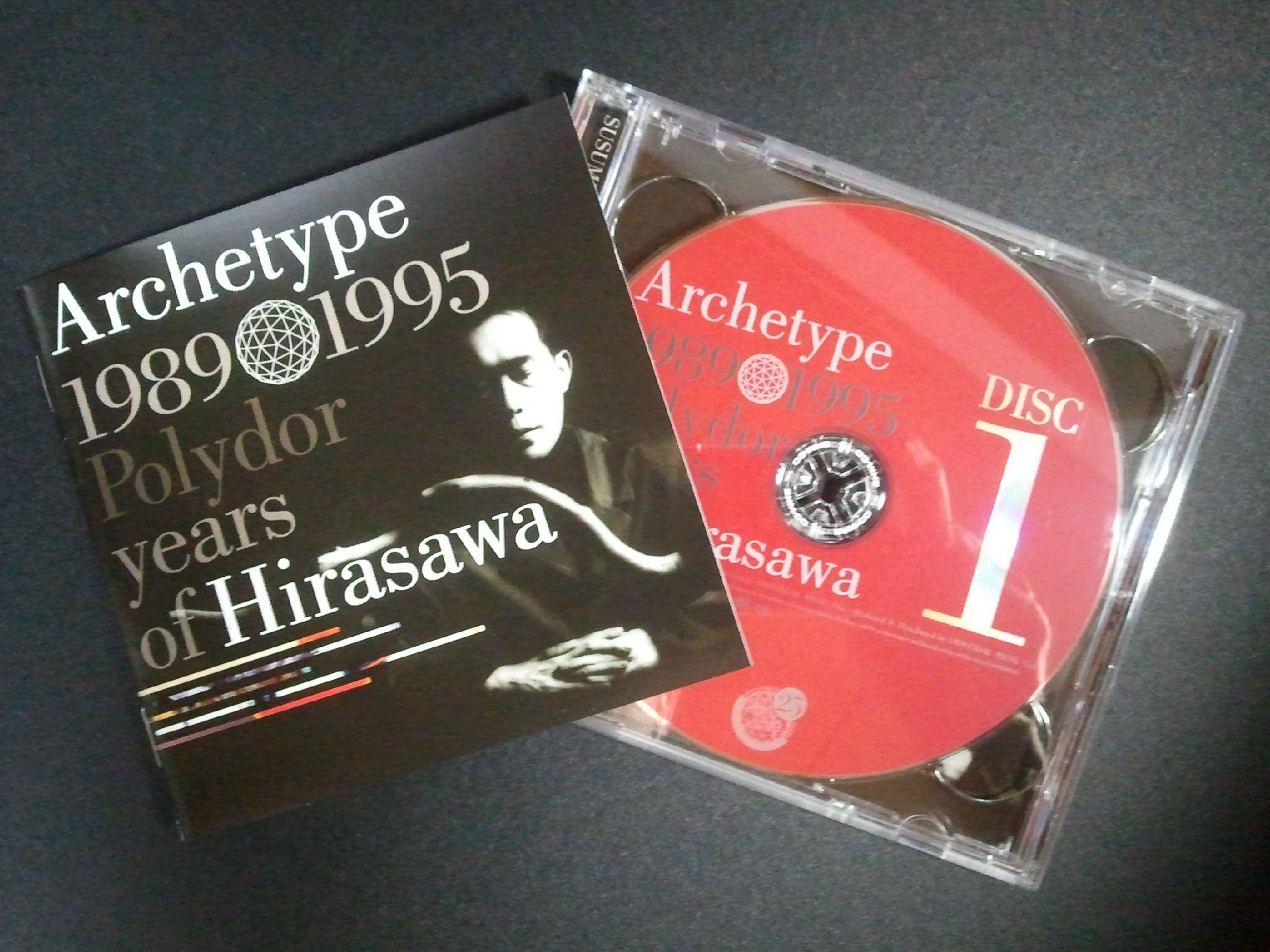 平沢進 Archetype 1989 1995 Polydor sears of Hirasawa