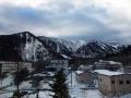 湯元温泉から白根山方面を見る