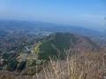 山頂からの女体山
