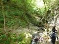 白孔雀の滝
